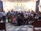 كنيسة العائلة المقدسة بالفيوم تختتم مؤتمرًا لخدمة ذوى الاحتياجات الخاصة