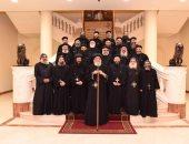 البابا تواضروس يترأس أعمال اليوم الثانى لمؤتمر كهنة الخليج بدير الأنبا بيشوى