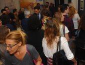"""حضور موسع من كبار البرلمانيين والشخصيات الثقافية والإعلامية بصربيا فى افتتاح """"معرض الخط العربى"""