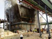 السيطرة على حريق نشب بأحد مصانع دمياط الجديدة