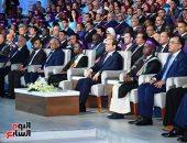 """شباب """"حياة كريمة"""" يعرضون ما تم تنفيذه فى المبادرة أمام الرئيس بمنتدى الشباب"""