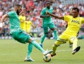 ريال مدريد يتعادل مع فناربخشة 2 - 2 فى شوط أول مثير.. فيديو