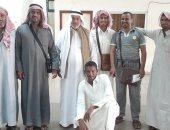 رئيس الهجانة الأردنية يستقبل قافلة الهجن المصرية المشاركة فى مهرجان الطائف
