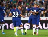 ليفربول ضد تشيلسي.. جيرو يلدغ الريدز بالهدف الأول فى الدقيقة 36