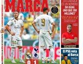 الريال ضد توتنهام .. صحافة مدريد تحذر الملكى بعد الخسارة من توتنهام: استيقظوا