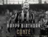 يوفنتوس يحتفل بعيد ميلاد كونتى مدرب الإنتر