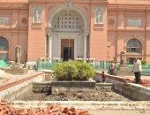 تستمر 3 سنوات.. شاهد أعمال تطوير المتحف المصرى بالتحرير فى المرحلة الأولى
