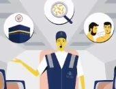 """""""حج بصحة"""".. فريق وقائى لمساعدة الحجاج فى مطارات السعودية.. فيديو"""
