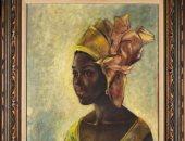 """تشبه الموناليزا الأفريقية.. عائلة تعثر على لوحة فنية نيجيرية """"صدفة"""""""