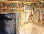 مقبرة توتو المكتشفة بسوهاج ضمن سيناريو عرض متحف العاصمة الإدارية الجديدة