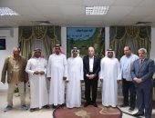 اتحاد الهجن الإماراتى يبحث دعم سباقات الهجن المصرية
