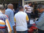 صور.. حملات مكبرة لمحاربة ظاهرة الأسواق العشوائية وسط الإسكندرية