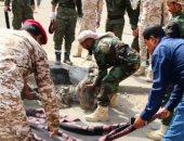 مقتل 19 جنديا فى هجوم مسلح على معسكر فى أبين اليمنية