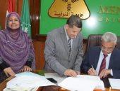 رئيس جامعة المنوفية يعتمد نتيجة الفرقة الرابعة بكلية التربية