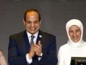 مريم النجدى: فخورة بتكريم الرئيس.. وهذا ما قاله لى بعد غناء أوبريت تحيا مصر