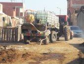 شكاوى مربى المواشى من انقطاع المياه بحظائر القابوطى الجديد جنوب بورسعيد