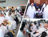 مصر للطيران تنقل 3700 حاجا من الأراضى المقدسة بعد أداء مناسك الحج