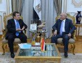 العصار يبحث مع سفير أوكرانيا سبل تعزيز التعاون المشترك