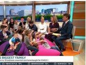 بعد إعلان هارى وميجان الاكتفاء بطفلين ..أكبر أسرة بريطانية تنتقد القرار بإنجاب طفل