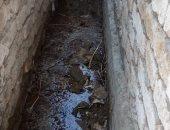 شكوى من تسرب المياه أسفل المنازل فى قريه بركة غطاس بمحافظة البحيرة