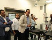 صور.. وفد من البنك الدولى يشيد بمنظومة مشروع التأمين الصحى الشامل ببورسعيد