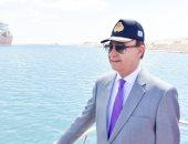 مميش: قناة السويس تشهد أكبر عبور عدد سفن وحمولات فى تاريخها