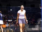 هانيا الحمامي تودع بطولة فرنسا للاسكواش من نصف النهائي