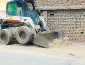 محافظ الدقهلية: رفع 800 طن قمامة بالمنصورة وإعدام لحوم وكعك وبسكويت فاسد