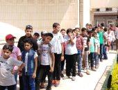 طلاب المدارس يزورون متحف رشيد القومى.. صور