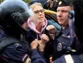 صور.. الشرطة الروسية تعتقل 311 شخصا فى احتجاج للمعارضة