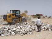 حملة إزالة للأراضى الزراعية وأملاك الدولة بمراكز محافظة الفيوم