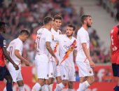 روما يفوز على ليل الفرنسي بثلاثية استعدادا للموسم الجديد