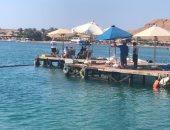 انطلاق منافسات المياه المفتوحة ببطولة العالم لسباحة الزعانف
