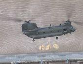 الجيش البريطانى يساهم فى إنقاذ سد من الانهيار بأكياس الحصى ــ فيديو