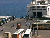 سفر الفوج الأخير للحجاج من ميناء نويبع بإجمالى 12 ألف و 486 حاجا