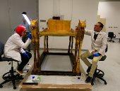 الآثار: نقل 4500 قطعة لتوت عنخ آمون للمتحف الكبير من إجمالى 5398