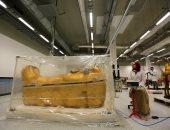 موقع عالمى يسلط الضوء على مقتنيات توت عنخ آمون بالمتحف الكبير