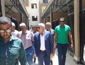 صور .. محافظ بورسعيد: الانتهاء من كافة الأعمال الإنشائية وتوصيل المرافق بمشروع 352 منزل وحظيرة