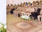 """رئيس الأركان يشهد المشروع التكتيكى""""فجر 3 """" بالمنطقة المركزية العسكرية"""