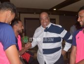 مصيلحى يعقد جلسة مع لاعبى الاتحاد ويطالبهم بالمنافسة على الكأس والبطولة العربية