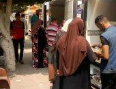 صور .. مديرية أمن الغربية تنظم قوافل غذائية بمراكز ومدن المحافظة