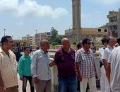 إزالة تعديات على أراضى تابعة لهيئة السكك الحديدية شرق الإسكندرية