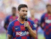ميسي يسجل المشاركة رقم 400 مع برشلونة فى الدورى الإسبانى