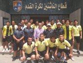فرق الناشئين بالمقاولون تغادر القاهرة لبدء المعسكرات الخاجية