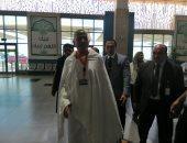 رئيس بعثة الحج يصل مطار القاهرة استعدادا للمغادرة للأراضى المقدسة