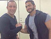 """فيديو..أحمد السقا وتامر حسنى يجتمعان في أقوى مشهد أكشن بـ """"الفلوس"""""""