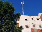 شكوى من وجود برج محمول أعلى منزل فى قرية قصر نصر الدين بالغربية
