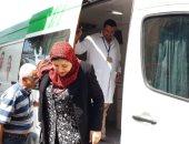 """الكشف على 1227 حالة بالمنتزة ضمن مبادرة """"كلنا واحد"""" بالإسكندرية"""
