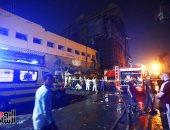 انفجار معهد الأورام.. آثار مواد متفجرة على جثامين الضحايا