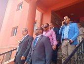 مساعد وزير الداخلية لوسط الدلتا ومدير أمن الغربية يتفقدان أقسام الشرطة بالمحلة